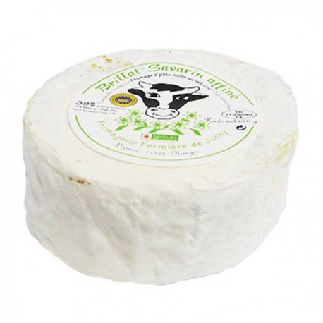Brillat Savarin Fermier 600g (au lait cru fermier de vache 35%MG produit fini)