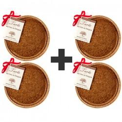 Lot de 4 tartes au noix artisanales du Périgord AOP 4 x 300g