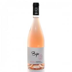 Domaine UBY Byo Cabernet Franc Merlot N°26 IGP Côtes de Gascogne Rosé 2019 75cl