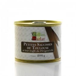 Petites saucisses de Toulouse et leur Truffe Noire du Périgord 2% 200g