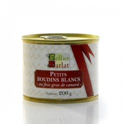 Boudins Blancs au Foie Gras 200g