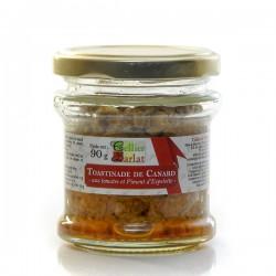 Toastinade de canard aux tomates et piment d'espelette, 90g