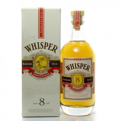 Rhum Whisper 8 ans La Barbade Rum 40° 70 cl