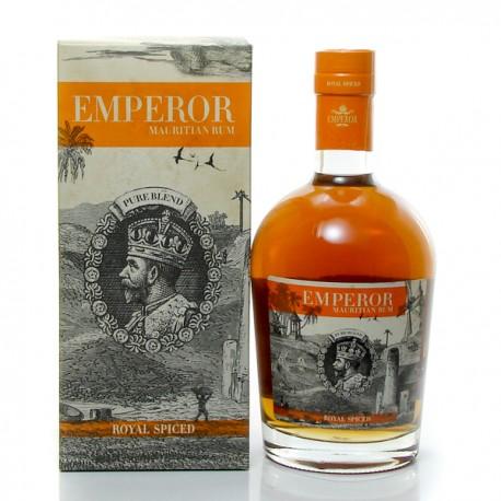 Rhum Emperor Royal Spiced Ile Maurice Rum 40° 70cl