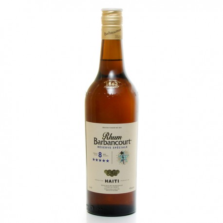 Rhum Barbancourt 5 Etoiles Guyane Française Rum 43° 70 cl