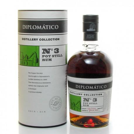 Rhum Diplomatico Distillery Collection N°3 Pot Still Venezuela Ron 47° 70cl