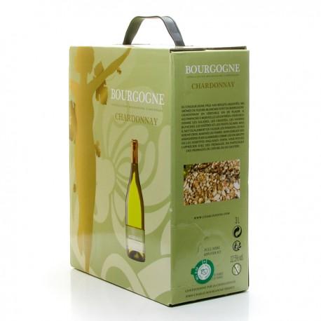 Cave la Chablisienne AOC Bourgogne Chardonnay Blanc Bib 3 l
