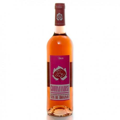 Vin de Domme Rose Cuvée Gourmandise Vin du Périgord 2019 75 cl