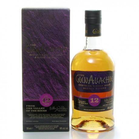 Whisky Ecosse Glenallachie 12 ans Single Malt 46° 70 cl