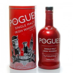 Whisky Irlande The Pogues Single Malt (Rouge) 40° 70cl