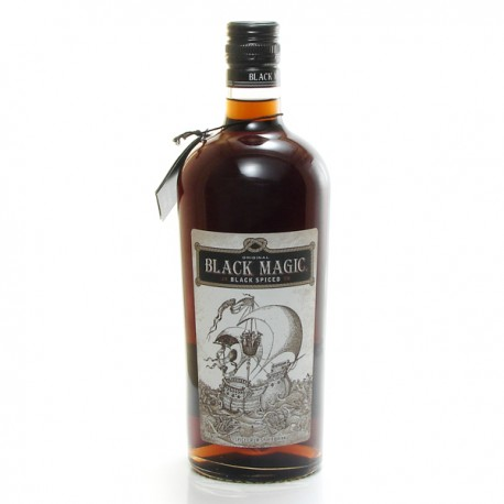 Rhum Porto Rico Black Magic 40° 70 cl