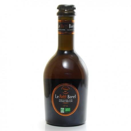Bière Artisanale IPA Sans Alcool Le Petit Béret BIO 33 cl