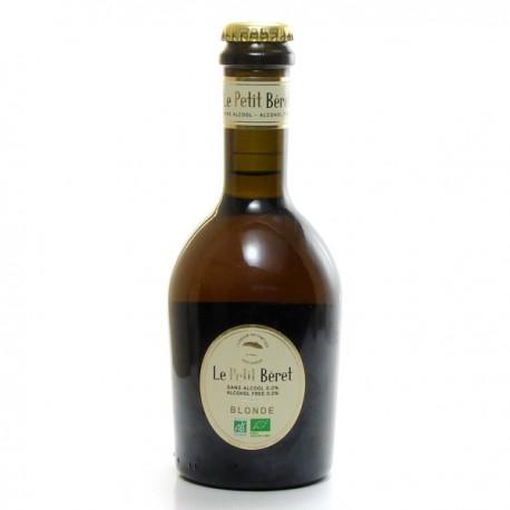 Bière Artisanale Blonde Sans Alcool Le Petit Béret BIO 33 cl