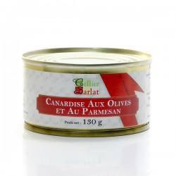 Canardise aux Olives et au Parmesan 20% Foie Gras 130g