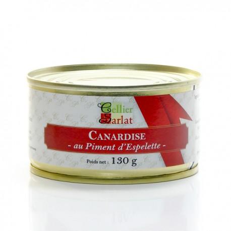 Canardise au Piment d'Espelette 20% Foie Gras 130g