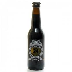 Bière Brassée 24 Stout Brasserie Artisanale de Sarlat 33cl
