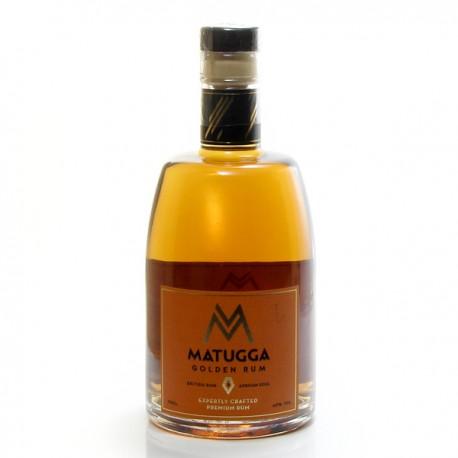 Rhum Matugga Gold Afrique de l'Est Rum 42° 70 cl