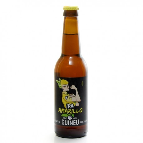 Bière Espagne Guineu IPA Amarillo 33cl