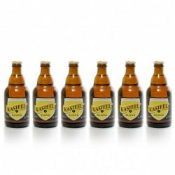 Pack de 6 bières de Belgique Kasteel Blonde 6 x 33 cl