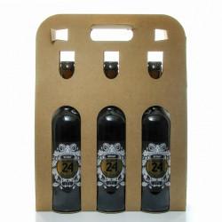 Pack de 3 Bières Brassée 24 Stout Brasserie Artisanale de Sarlat 75 cl