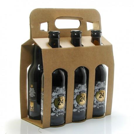 Pack de 6 Bières de Stout Brasserie de Sarlat 33 cl