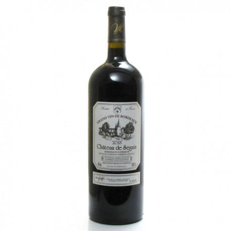 Château de Seguin AOC Bordeaux Supérieur 2018 Magnum 150cl