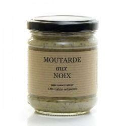 Moutarde Fine au Noix 200g