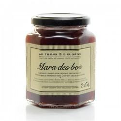 Confiture artisanale aux fraises Mara des bois,325g