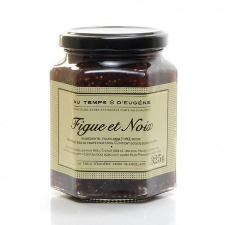 Confiture artisanale aux figues et aux noix, 325g