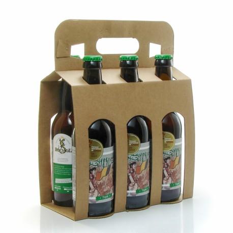 Pack de 6 bières Triple 1830 Brasserie Artisanale Roc Mol 6 x 33cl
