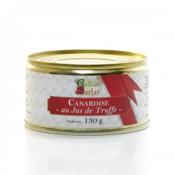 Canardise au jus de truffe 20% Foie Gras 130g