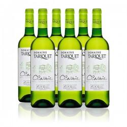 Carton de 6 bouteilles de Domaine Tariquet Classic 2019 6 x 75 cl