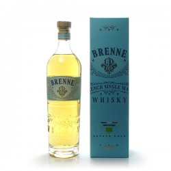 Whisky Brenne French single malt Bio single malt whisky 40°, 70cl