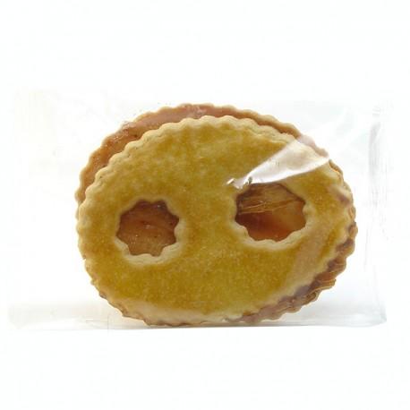 Biscuit artisanal Lunette à la fraise 80g