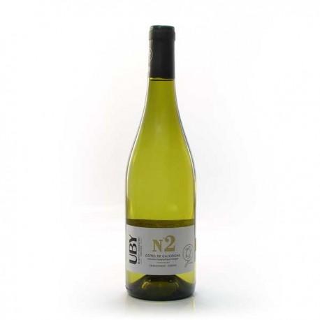 Domaine Uby Chenin Chardonnay N°2 IGP Côtes de Gascogne Blanc 2020 75cl