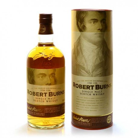 Whisky Ecosse Robert Burns Single Malt Scotch 43° 70cl