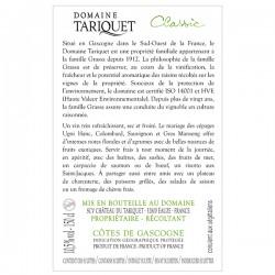 Domaine Tariquet Classic IGP Côtes de Gascogne 2020 Magnum 150cl