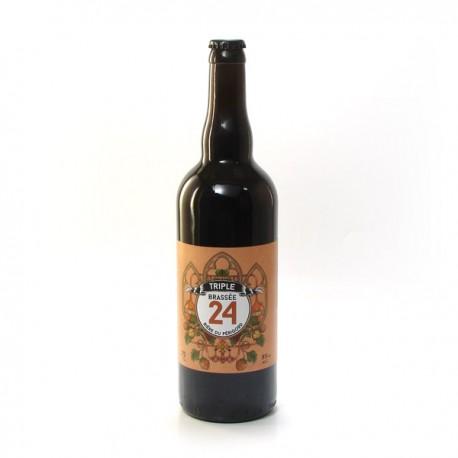 Bière Triple Brassée 24 Brasserie Artisanale de Sarlat 75cl