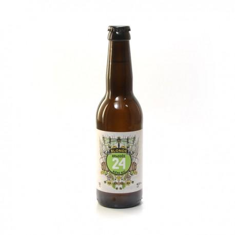 Bière Blonde BIO Brassée 24 Brasserie Artisanale de Sarlat 33cl