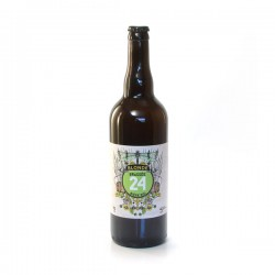 Bière Blonde BIO Brassée 24 Brasserie Artisanale de Sarlat 75cl