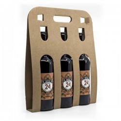 Pack de 3 Bières Brassée 24 Triple Brasserie Artisanale de Sarlat 75cl
