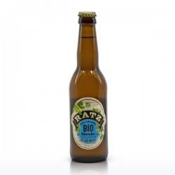 Bière blanche Bio artisanale du Quercy Brasserie Ratz 33cl
