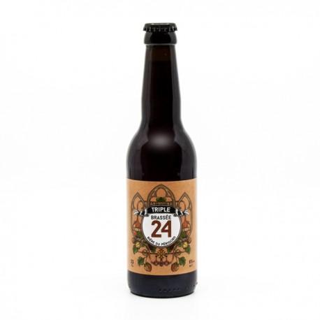 Bière Triple Brassée 24 Brasserie Artisanale de Sarlat 33cl