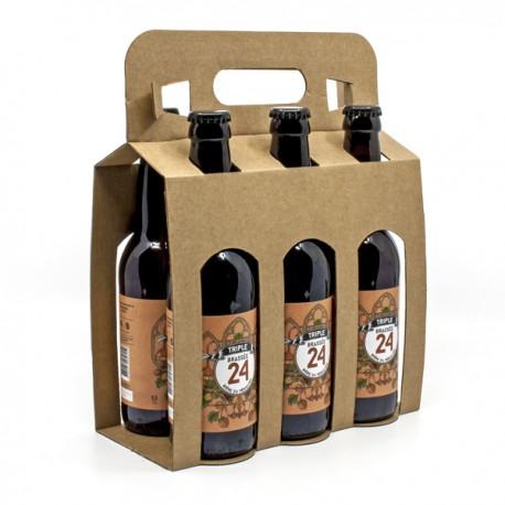 Pack de 6 Bières Brassée 24 Triple Brasserie Artisanale de Sarlat 33cl