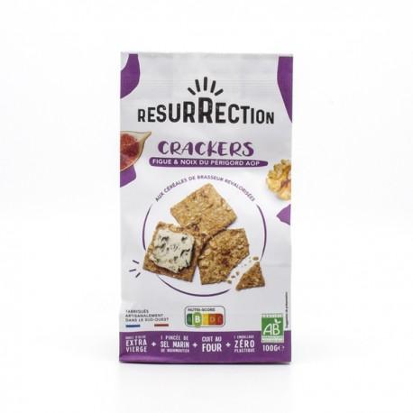 Crackers Apéro BIO Figues et Noix du Périgord AOP 100g