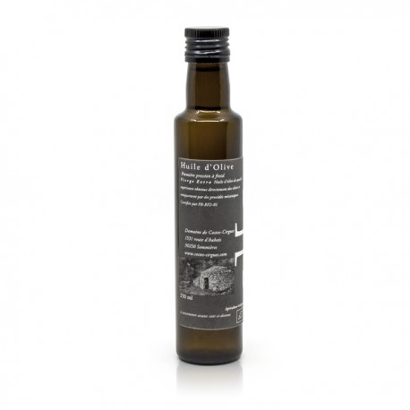 Huile d'Olive Extra Vierge Domaine Costes Cirgues BIO 25cl