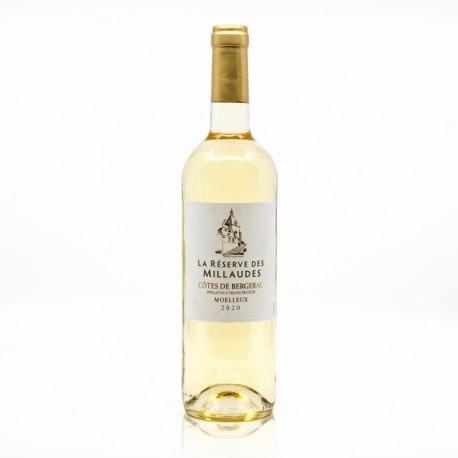 La Réserve des Millaudes AOP Côtes De Bergerac Moelleux 2020 75cl