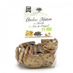 Sachet de Cookies BIO Farine d'Epeautre Chocolat et Noix du Périgord 200g