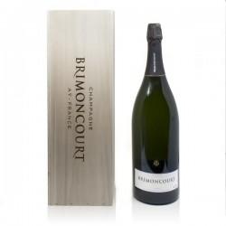 Champagne Brimoncourt Cuvée Régence caisse bois brut 300cl