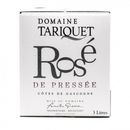 Domaine Tariquet Rosé de Pressée IGP Côtes de Gascogne BIB 3l